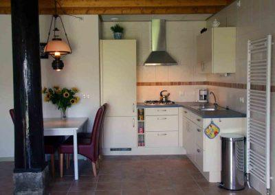 keuken vakantieappartement drenthe andewieke